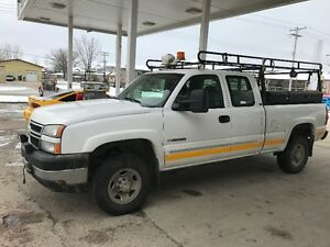 2006 Chevrolet Silverado 2500 Pickup Truck extended cab REDUCED