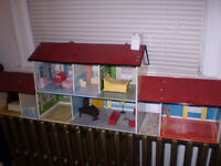 Marx Tin Doll House.