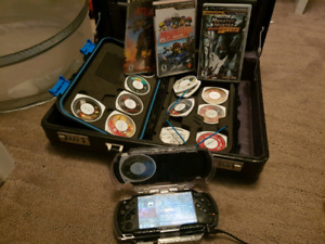 Old PSP with lots games