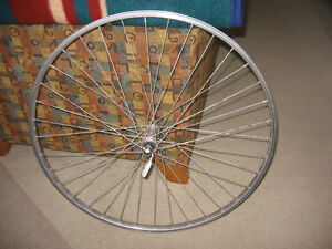 27 1 1/8 Front Wheel