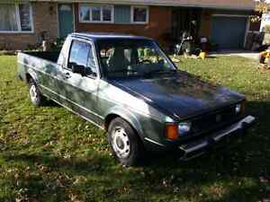 1981 Volkswagen Rabbit Pickup (caddy)