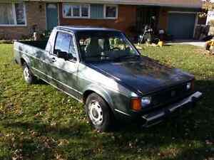 1981 Volkswagen Rabbit Pickup (caddy)