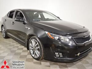 2014 Kia Optima Turbo SX  - sk tax paid - trade-in - $165.66 B/W