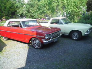 1962-65 Chevy 11 Nova & Acadian parts For Sale