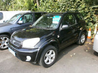 Toyota RAV4 2.0 VVT-i XT3 FULL BLACK LEATHER, DRIVES WELL