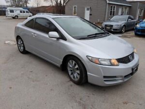 2009 Honda Civic EX-L-Auto- Coupe (2 door)-Certified