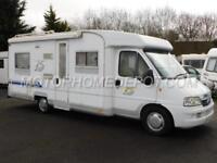 Burstner HARMONY T625, 2002 (52), Fiat 2.8 Diesel, 4 Berth, Rear Fixed Bed, TV!