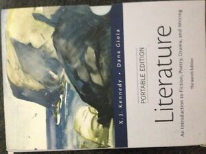 Literature: an intro to fiction, poetry, drama, writing. ENG1190