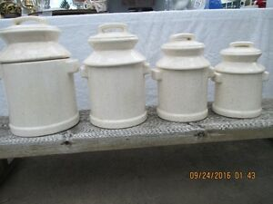 Milk Can Canister Set Cornwall Ontario image 6