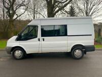 2010 Ford Transit MWB crew van 2.2 TDCi 140ps NO VAT PANEL VAN Diesel Manual