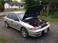1999 Subaru Impreza GC8 Sedan 2.2l 5 speed