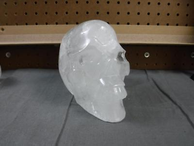 Carved Crystal Skull Realistic Quartz Free Shipping USA Seller 5 lb 11.5 oz