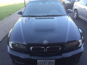 2003 BMW M3 Black Coupe (2 door)