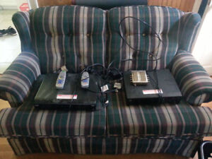 2x Satellite receiver PVR's with dish