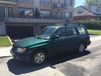 2000 Subaru Forester...163 000 km...SOLIDE...DEAL...