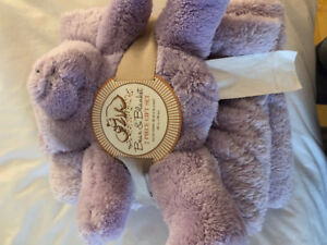 Blanket and bear gift set (never used)