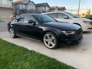 2013 Audi S4 Low KM and 6 Spd