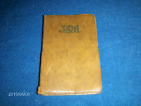 1950 L & M DIARY & NOTE BOOK-LINOTYPE & MACHINERY LTD-VINTAGE!