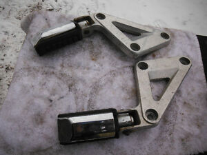 1983 Honda Shadow VT750 Rear Foot PEGS 50712-ME9-000