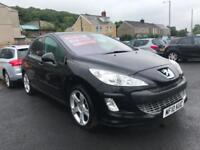2010 10 Peugeot 308 2.0HDi ( 136bhp ) FAP GT Turbio Diesel 6 Speed Manual