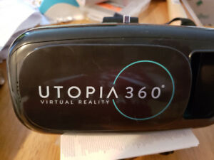 Utopia 360 VR Headset | 3D Virtual Reality Headset with remote