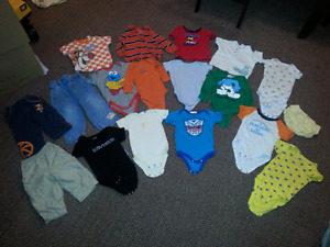 Used baby boy clothes 6-12 months