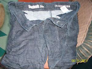 Womens stretchy denim shorts