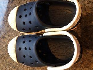 baby boy size 5-6 crocs