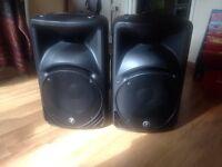 Mackie speakers C300z