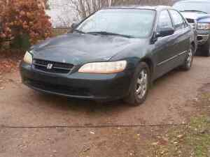 2000 Honda accord for sale or trade.