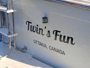 Boat Registration Numbers and Transom Decals Cornwall Ontario image 6