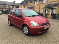 2002 Toyota Yaris 1.0 VVT-i Colour Collection 5dr