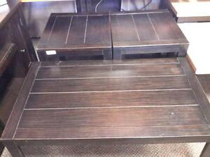 *** USED *** ASHLEY HOLLYTYNE COFFEE/END TABLE   S/N:51228203   #STORE223