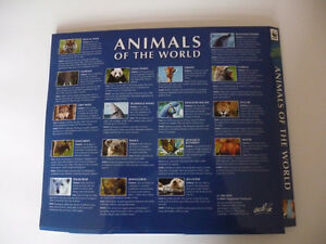 WWF ANIMALS PIN COLLECTIONT
