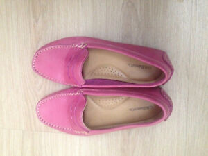 Pink leather shoes from GH Bass size 7