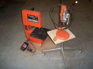 Drill Press and   Band Saw