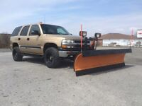 Lifted 4x4 Tahoe w/ Arctic Plow- ForSale/Trade