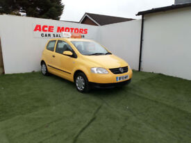 2010 VOLKSWAGEN FOX 1.2 URBAN 3 DR,75000 MILES WITH FULL SERVICE HISTORY