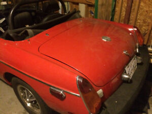 1975 MG MGB Convertible