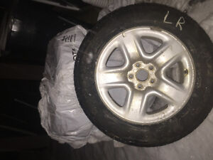 "Set of 4 x 17"" RIMS"