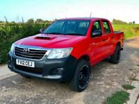 Toyota Hi-Lux 2.5D-4D 4WD HL2 Doublecab Red 2012 FSH 88000 miles