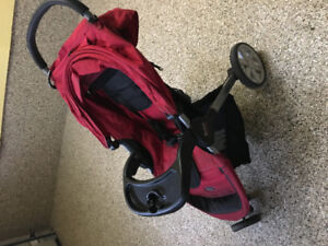 Britax B Agile Stroller With Tray Car Seat Adapter