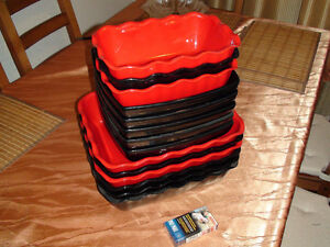 """CAMBRO"" CATERING SET TRAYS"