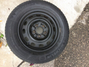 Michelin X-ICE studless 195-65 R15 winter tires