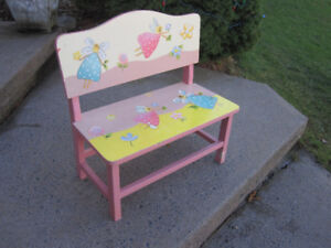 Children's Wooden Bench