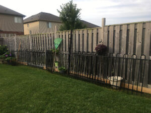 Black Steel Fence