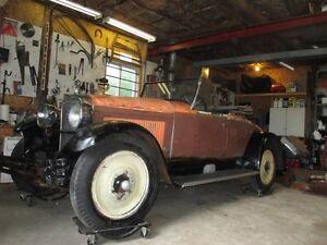 NASH Advanced Six Roadster DeLuxe Rumble Seat 1927
