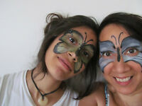 Party Works Face Painting $70/1hours/2facepainters!