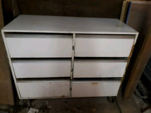 Solid Rolling job box or tool box or storage unit