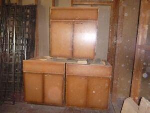 Sturdy Plywood Base Cabinets